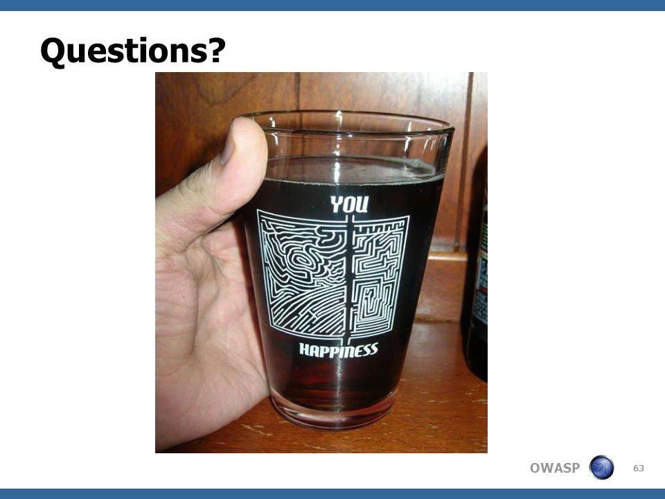 OWASP Questions 63