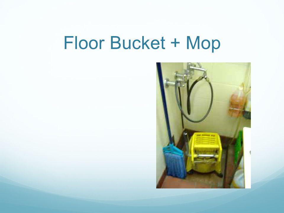 Floor Bucket + Mop