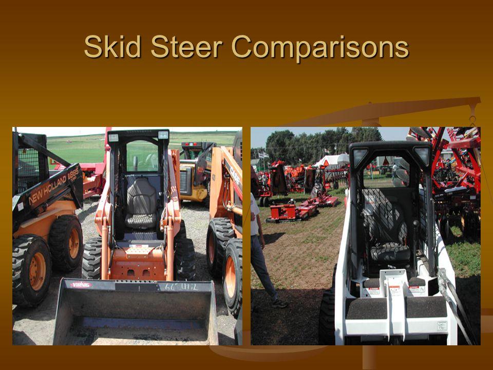 Skid Steer Comparisons