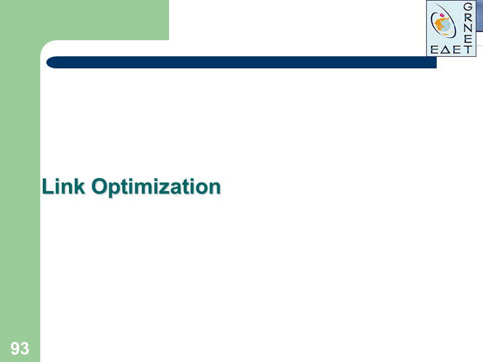 93 Link Optimization
