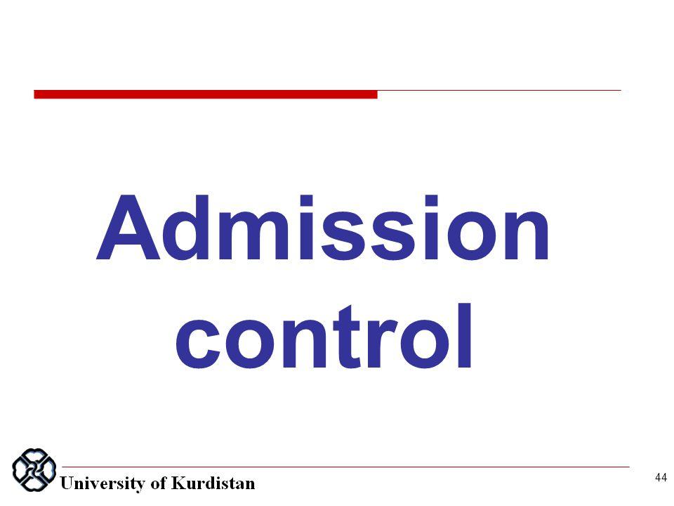 44 Admission control