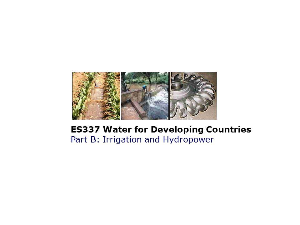 B1.1.4Hydrology Flow estimation: Weirs: Calculation for triangular weirs >2h h b 