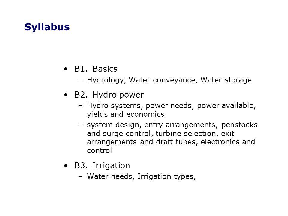 Books Massey, B (1998) Mechanics of Fluids Stanley Thornes (QC 211 M2) Harvey A et al (1993) Micro-hydro Design Manual, IT Pubs, (TK 1081 H2) Inversin, A ( 1986) Micro-Hydro Sourcebook, NRECA (TK 1081 I6) Tong Jiandong et al (1997) Mini Hydropower, Wiley, (TK 1081 M4) Stern, P (1997) Small Scale Irrigation IT Pubs (TC 805 S8) Cornish G (1998) Modern Irrigation Technologies, IT Pubs, (qto TC 805.C6) Diemer G & Huibers F (1996) Crops, People & Irrigation IT Pubs (S 613 C7)