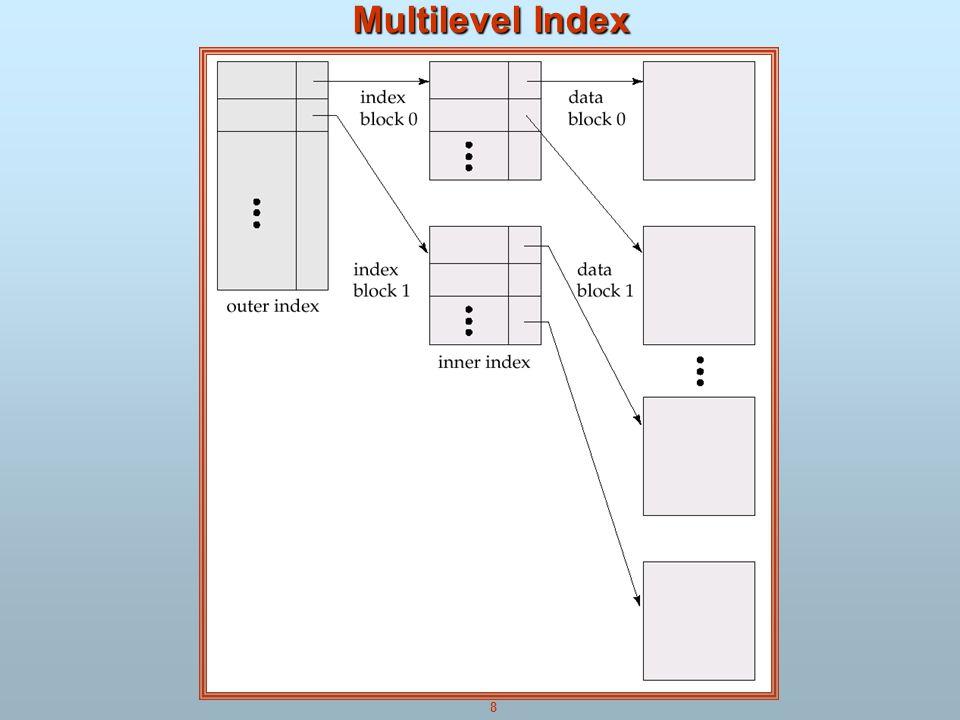 8 Multilevel Index