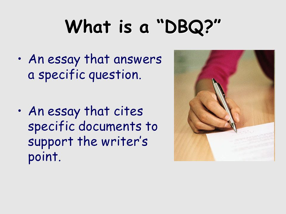 a good dbq essay Learn how to write a dbq essay to submit a perfect draft and earn higher scores this academic assignment is easier to complete when you're equipped with effective tools.