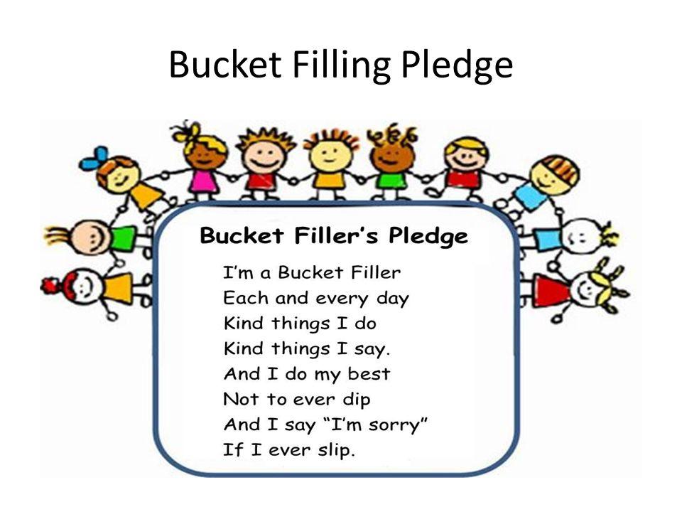 Bucket Filling Pledge
