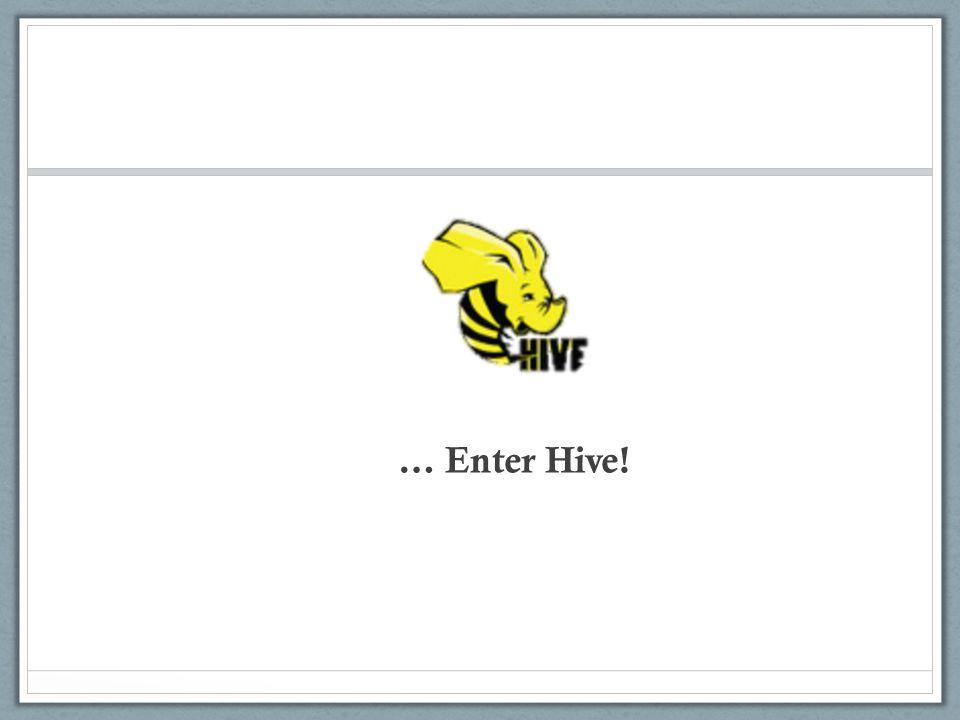 … Enter Hive!