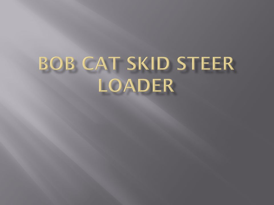  How weight distribution affects skid loader steering and stability.