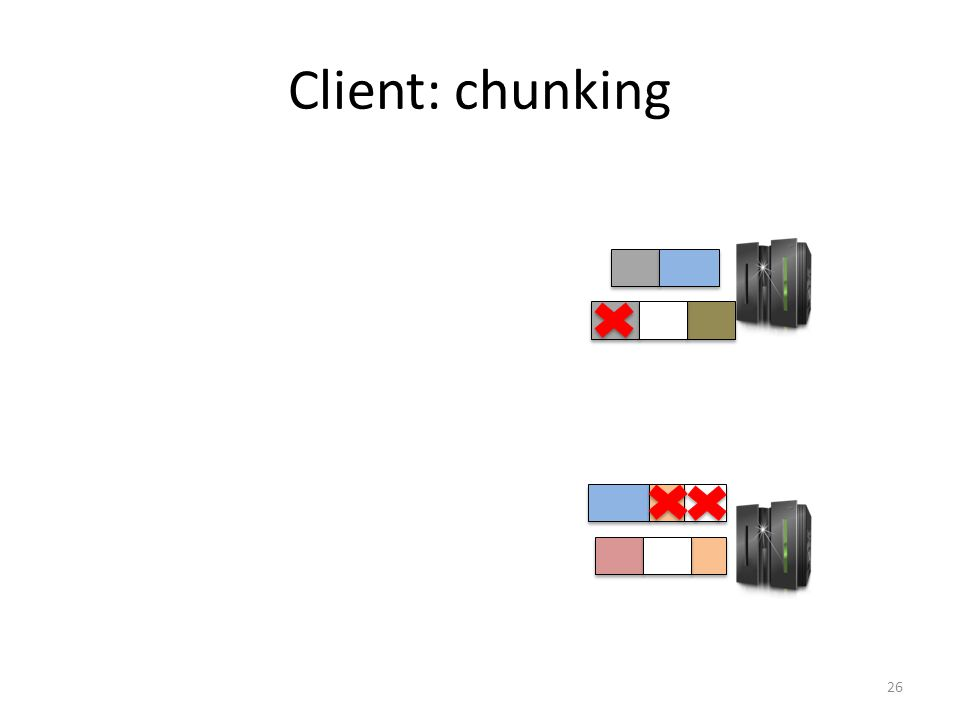 Client: chunking 26