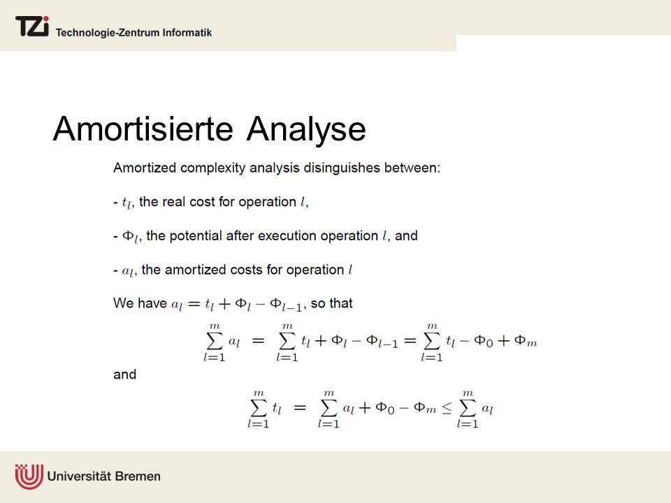 Amortisierte Analyse