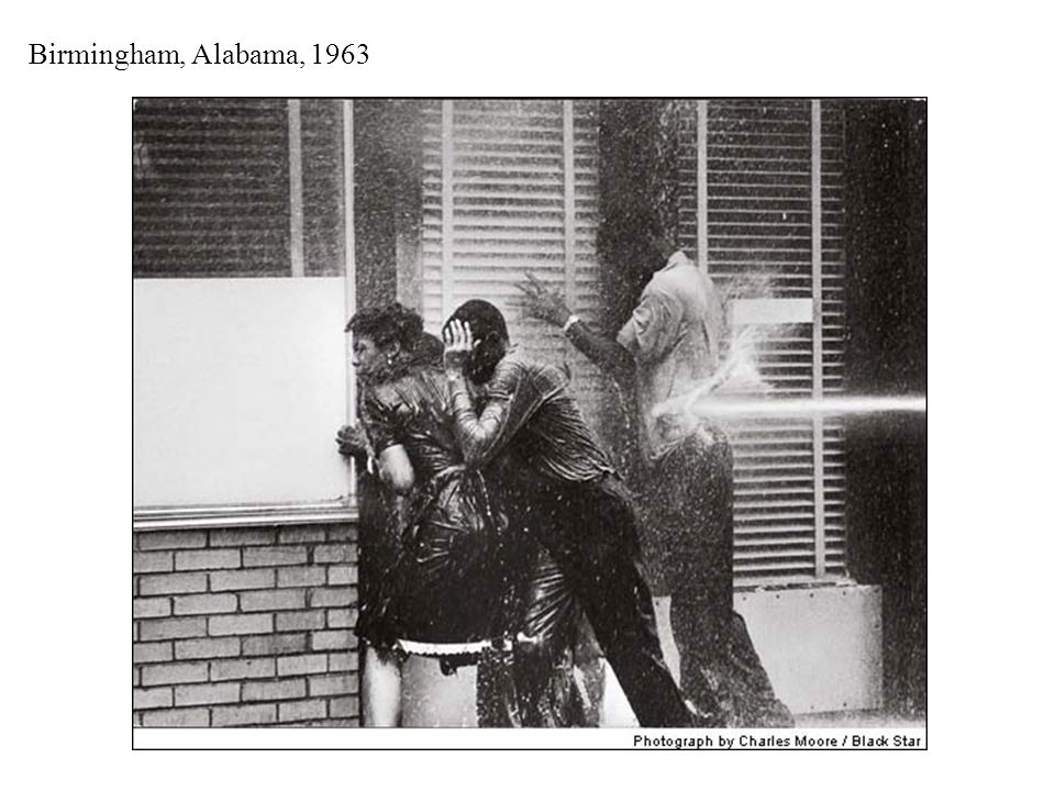 Birmingham, Alabama, Spring 1963 (Bull Connor – Commissioner for Public Safety