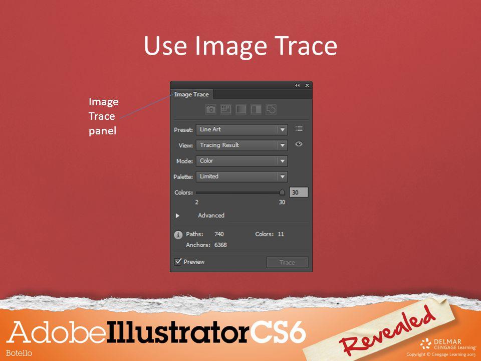 Image Trace panel