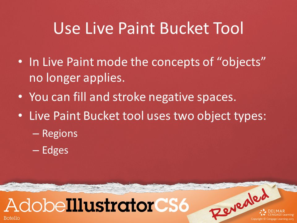Use Live Paint Bucket Tool In Live Paint mode the concepts of objects no longer applies.