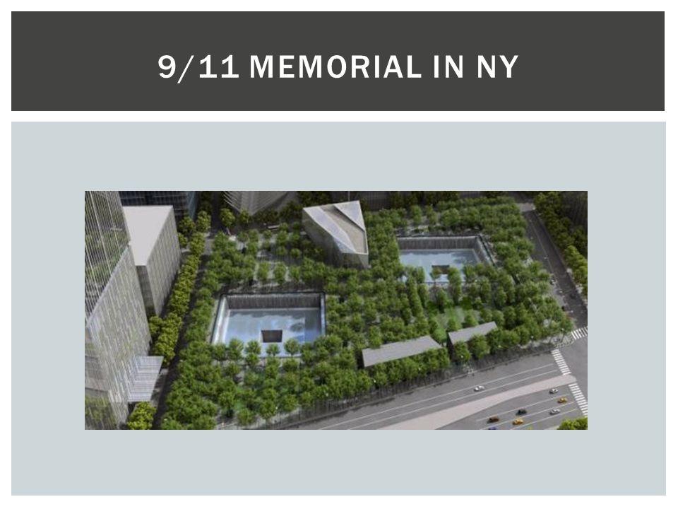 9/11 MEMORIAL IN NY
