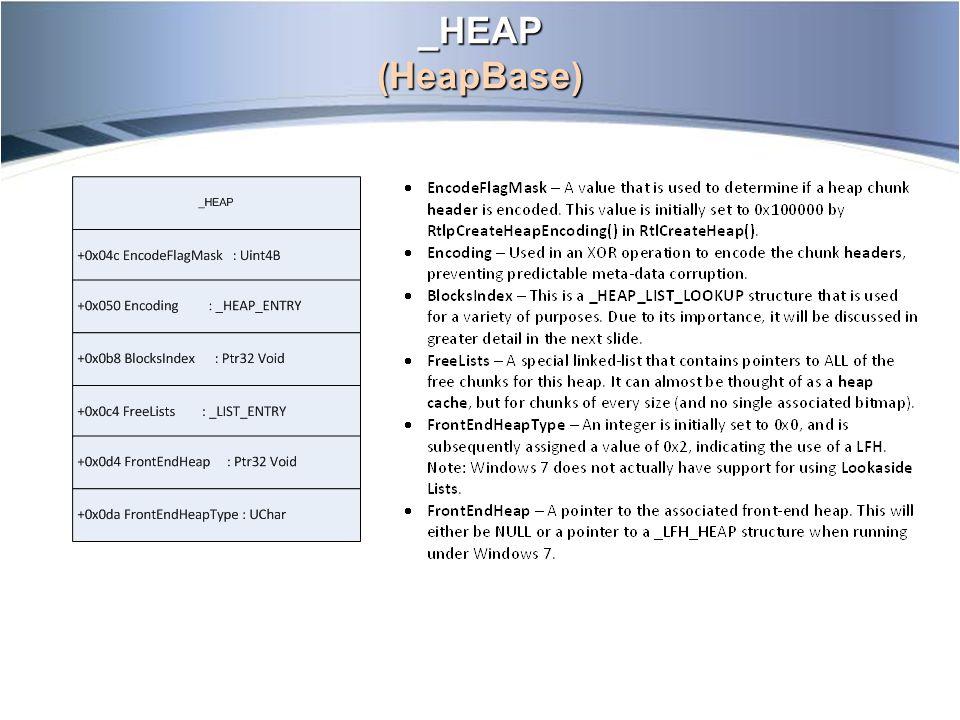 _HEAP (HeapBase)