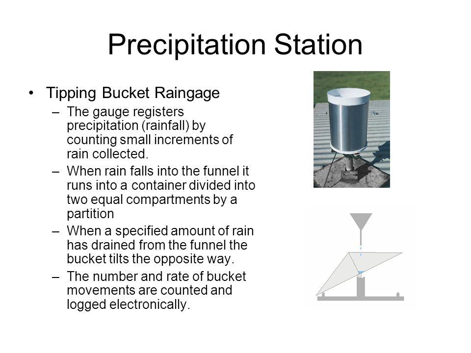Tipping bucket rain gage