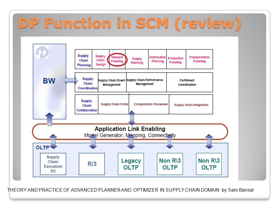 Common Time Horizons for DP and Sales in SCM (review)