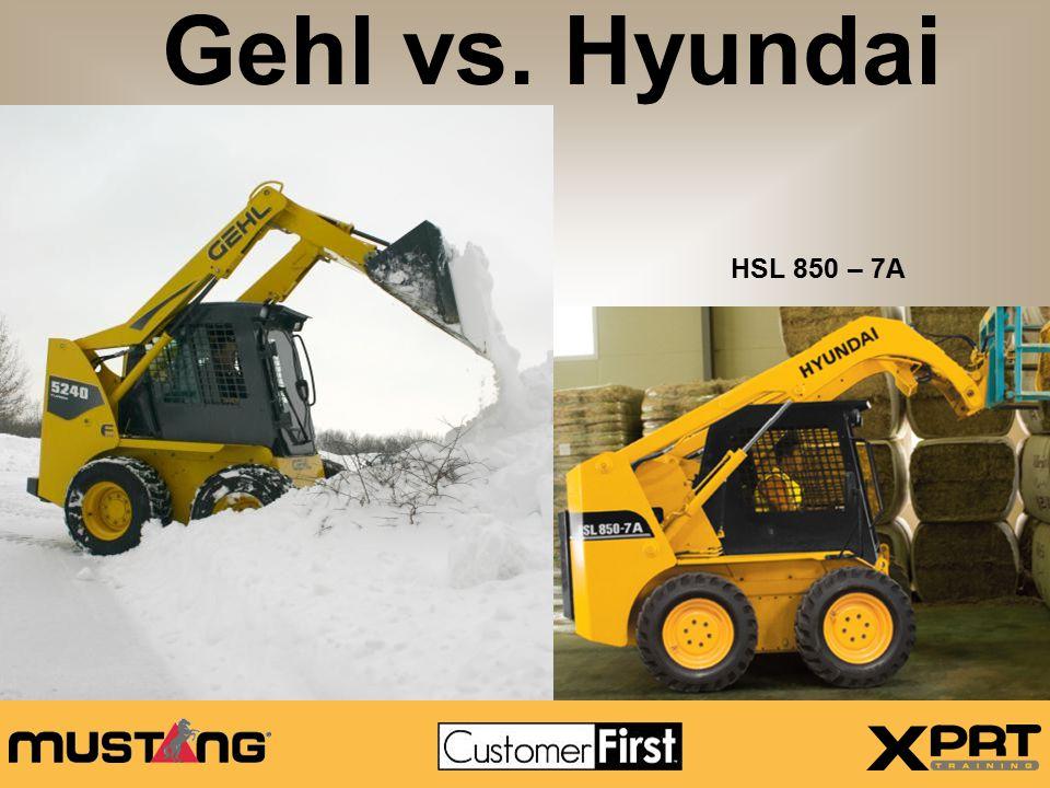 Gehl 5240E vs.
