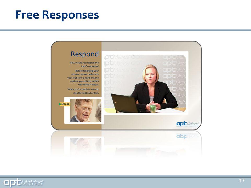 Free Responses 17