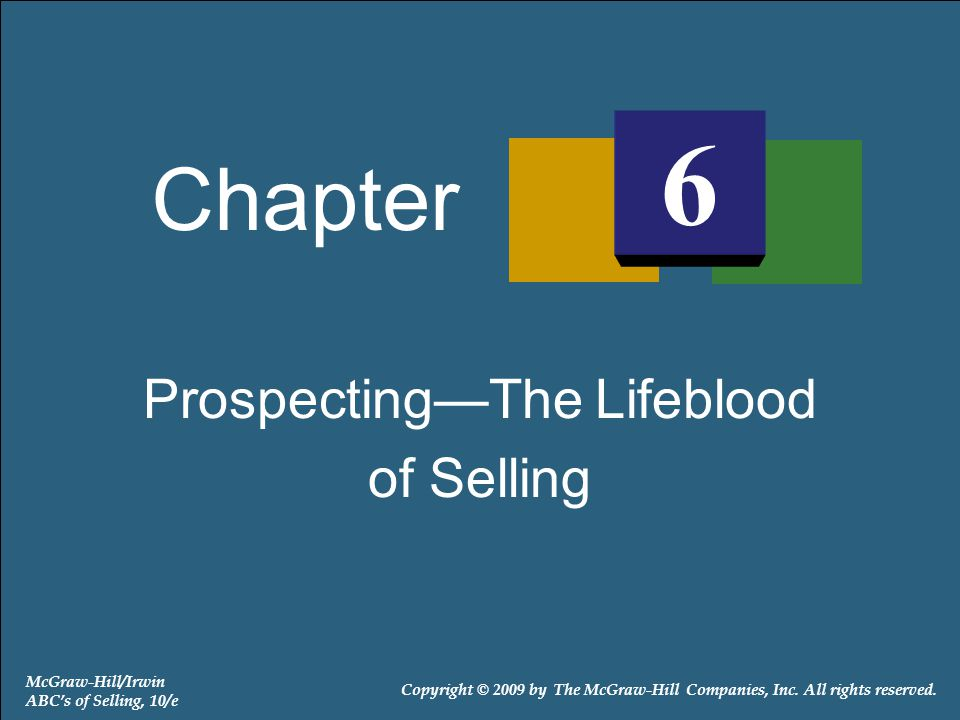 Exhibit 6-2: Before the Sales Presentation 6-12