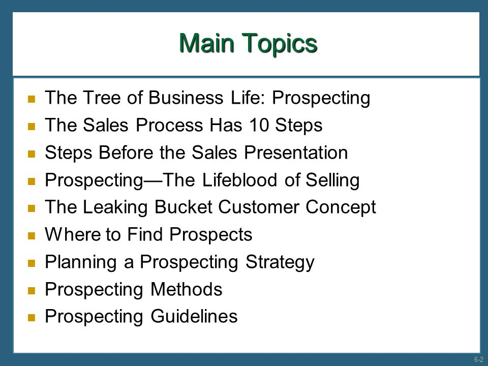 Exhibit 6-6: Reports From a Telemarketing Center to Other Marketing Groups Within the Firm 6-23