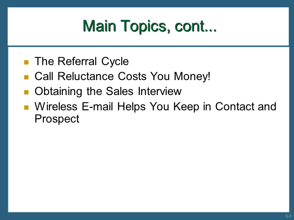 Call Reluctance Costs You Money.Call Reluctance Costs You Money.