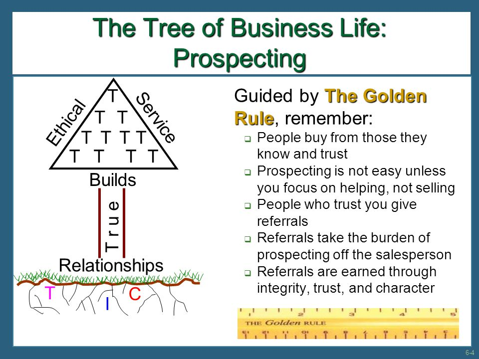 Prospecting–The Lifeblood of Selling Sales Prospecting Funnel  All leads and prospects must be considered and filtered through the MAD process before they become qualified prospects 6-15