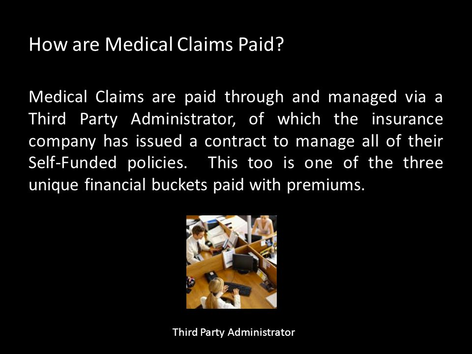 How are Medical Claims Paid.