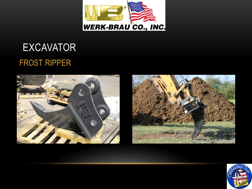 EXCAVATOR FROST RIPPER
