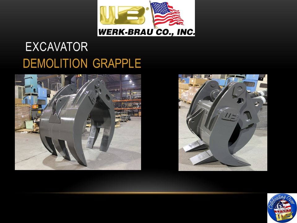 EXCAVATOR DEMOLITION GRAPPLE