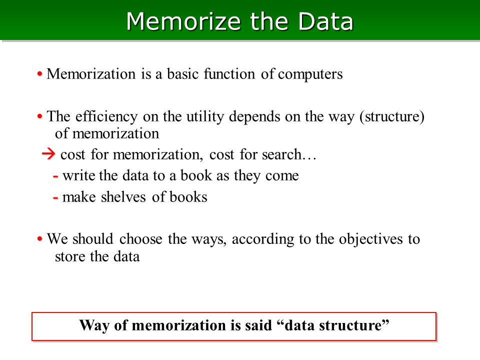 List Realized by Array List is realizable by arrays of cells instead of bothering pointers (on memory allocation, segmentation fault,…) Advantage: Advantage: cells have indices, thus we can easily allocate weight/extra value for all cells just allocating an array Disadvantage: Disadvantage: array needs cost to re-size Many applications in the real world needs fixed number of cells, thus no disadvantage In this case, all cells are stored in one structure typedef struct { int *prv; // index to previous int *nxt; // index to next int *h; // value } ALIST typedef struct { int *prv; // index to previous int *nxt; // index to next int *h; // value } ALIST