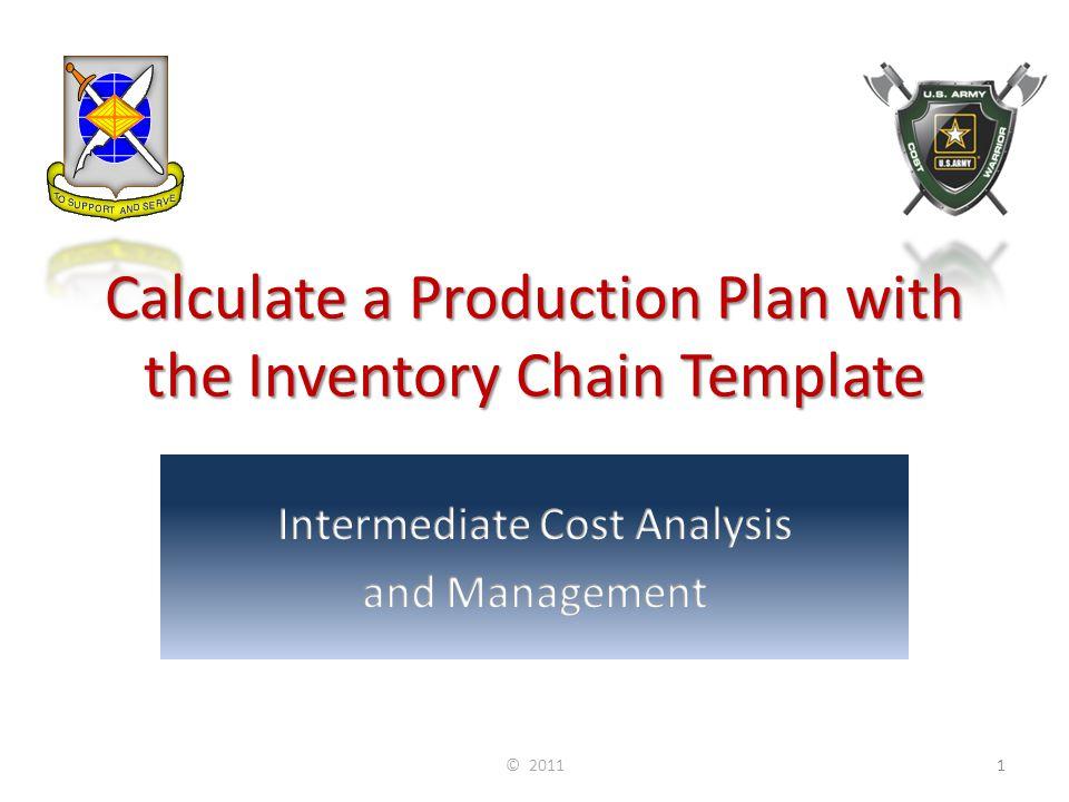 Flexible Forecast Example with Revenue Assumptions: Price per Unit = $10 Fixed Cost = $20 Variable Cost per Unit = $5 © 201132