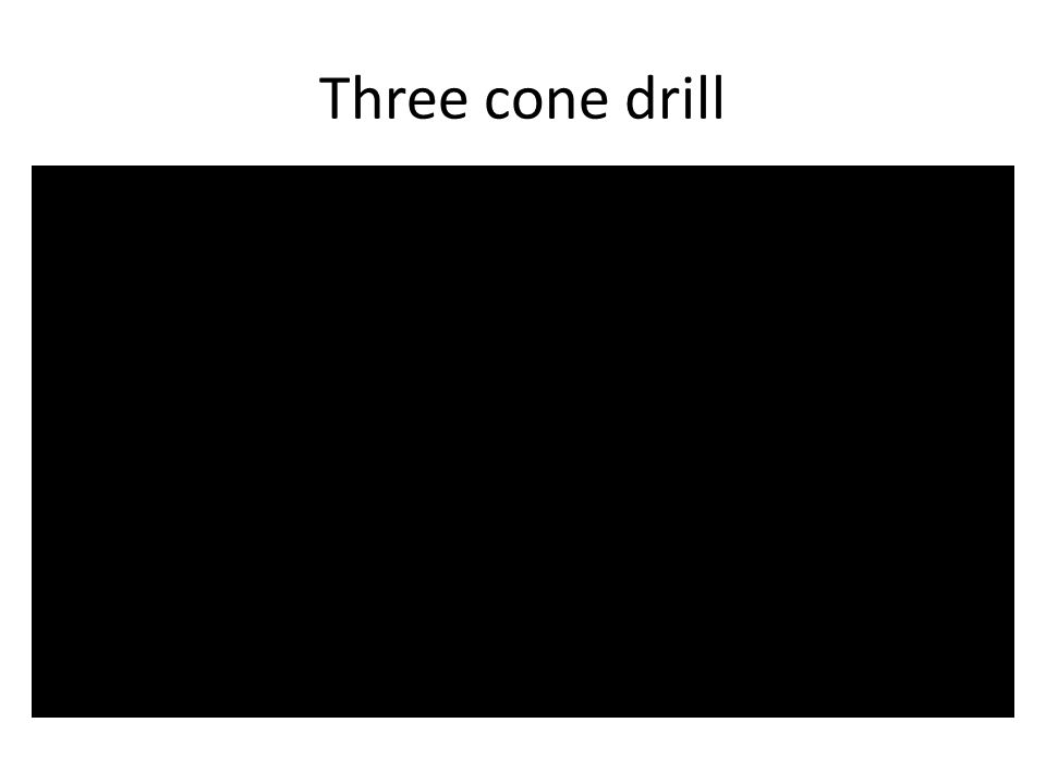 Three cone drill