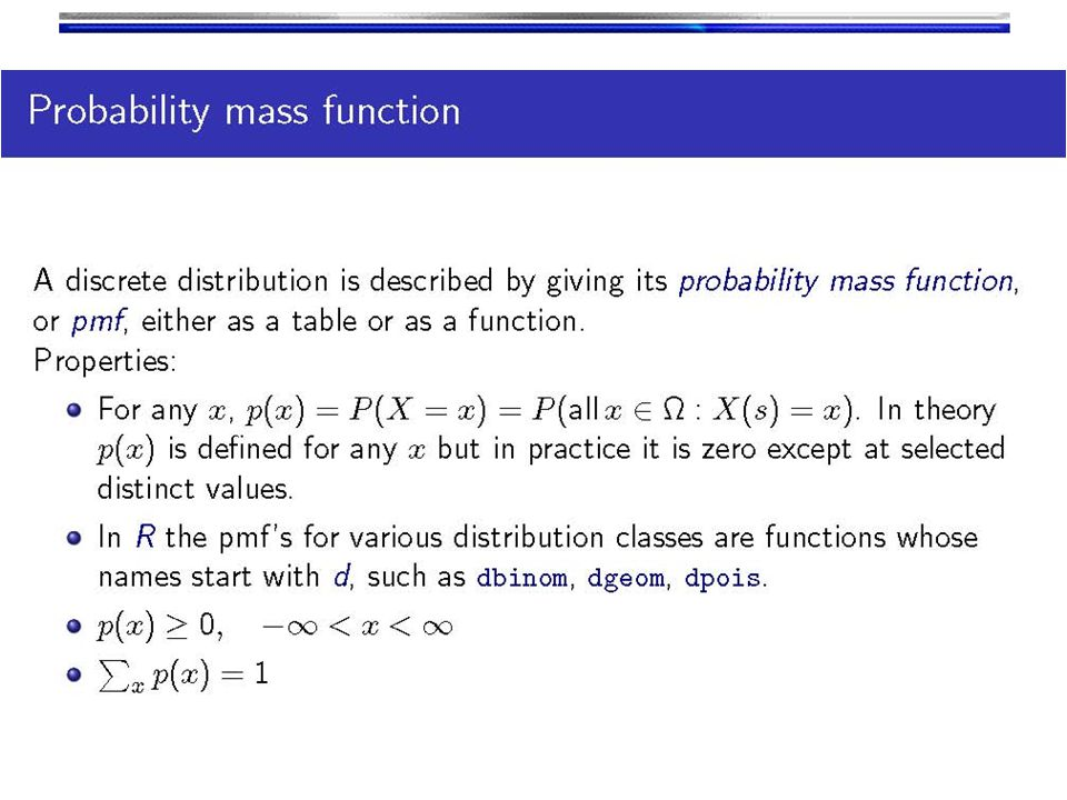 Hypergeometric distribution The binomial probability distribution is not technically applicable in a situation of sampling without replacement.