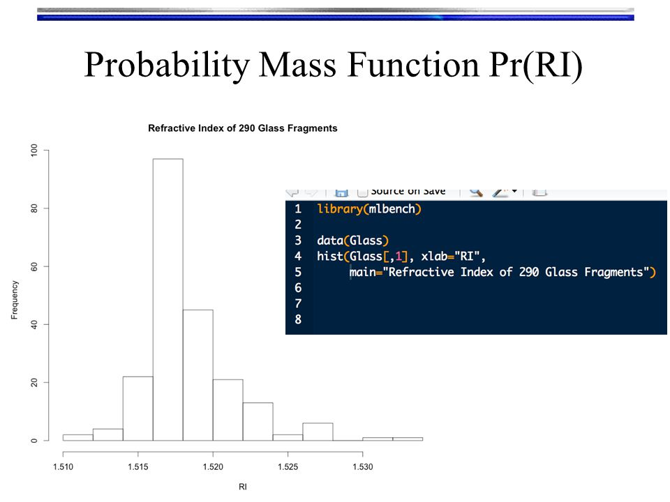 Parameters of a distribution