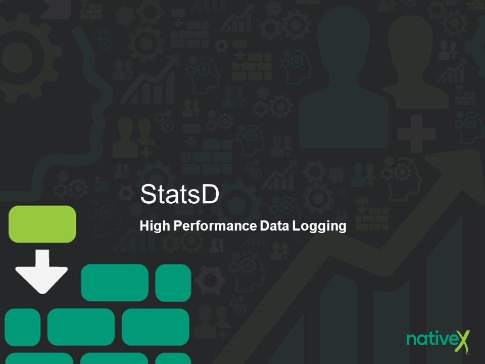 StatsD High Performance Data Logging