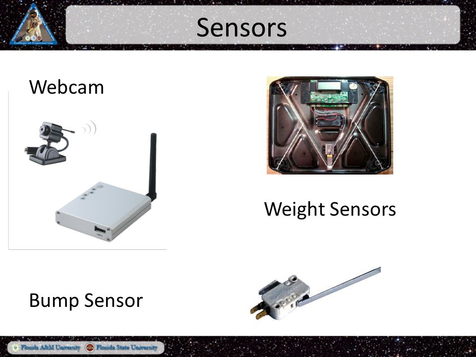 Sensors Webcam Weight Sensors Bump Sensor