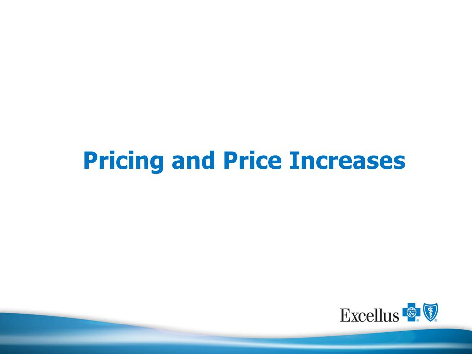 Pricing and Price Increases