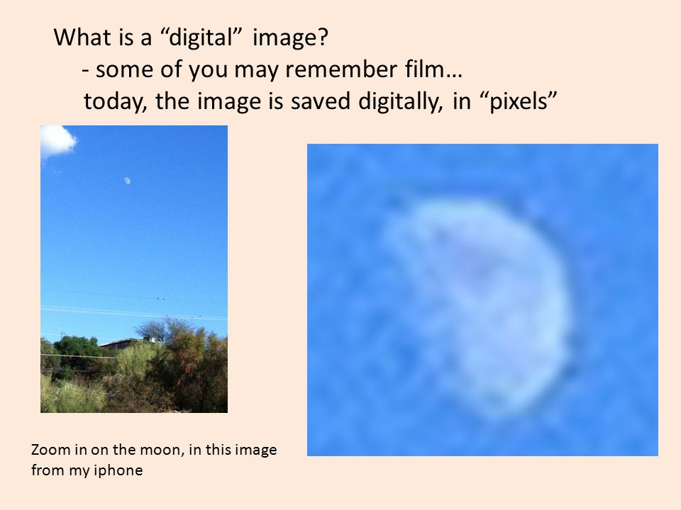 What is a digital image.