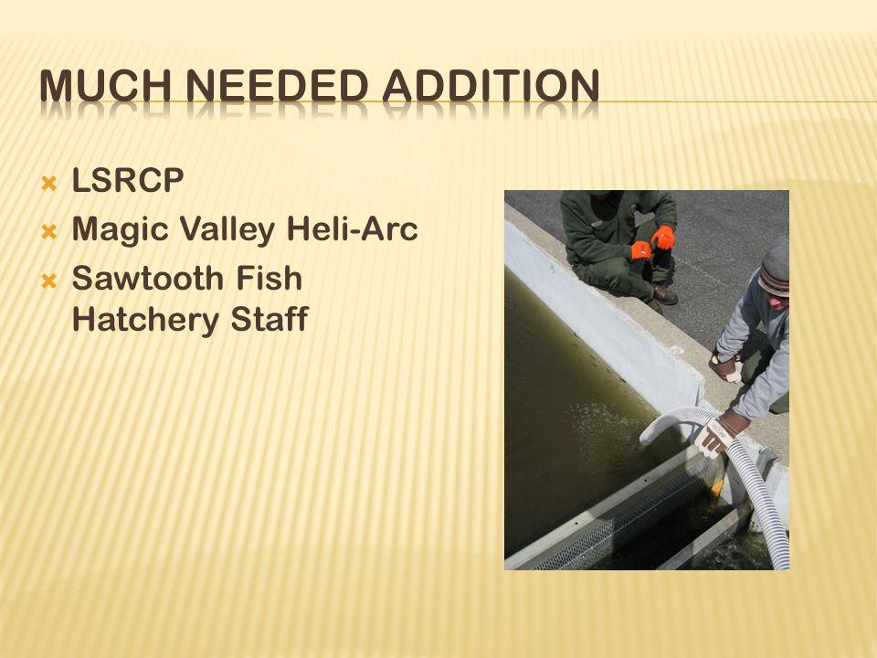  LSRCP  Magic Valley Heli-Arc  Sawtooth Fish Hatchery Staff