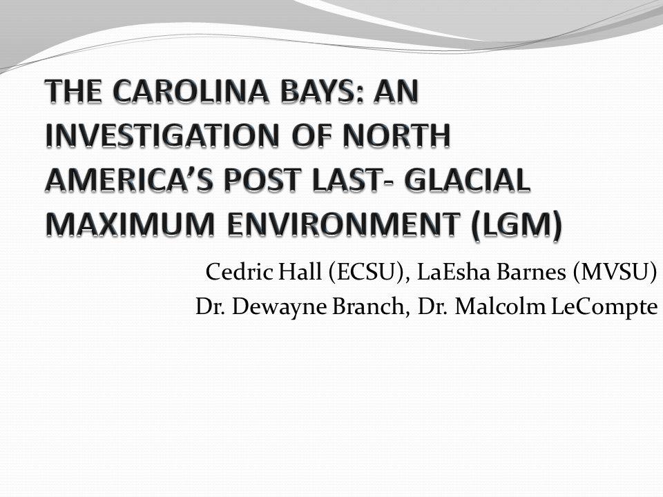 Cedric Hall (ECSU), LaEsha Barnes (MVSU) Dr. Dewayne Branch, Dr. Malcolm LeCompte