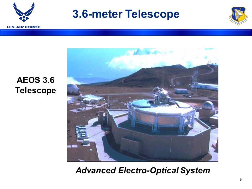 3.6-meter Telescope Advanced Electro-Optical System AEOS 3.6 Telescope 5