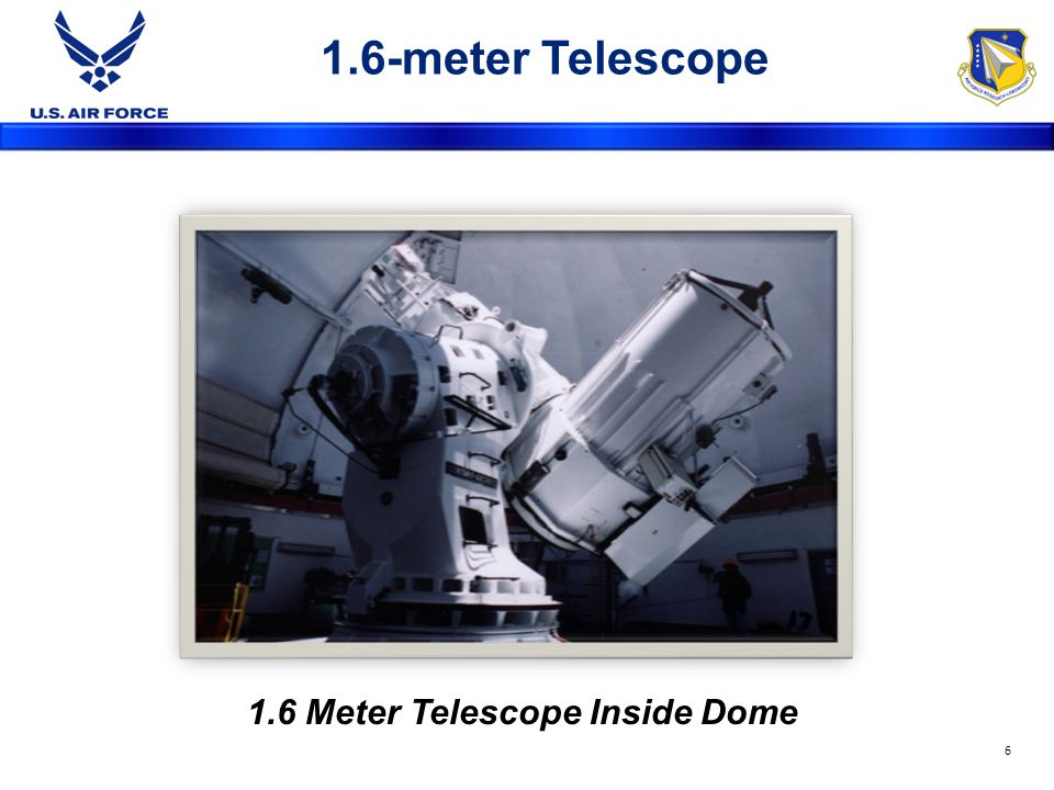 1.6-meter Telescope 1.6 Meter Telescope Inside Dome 6