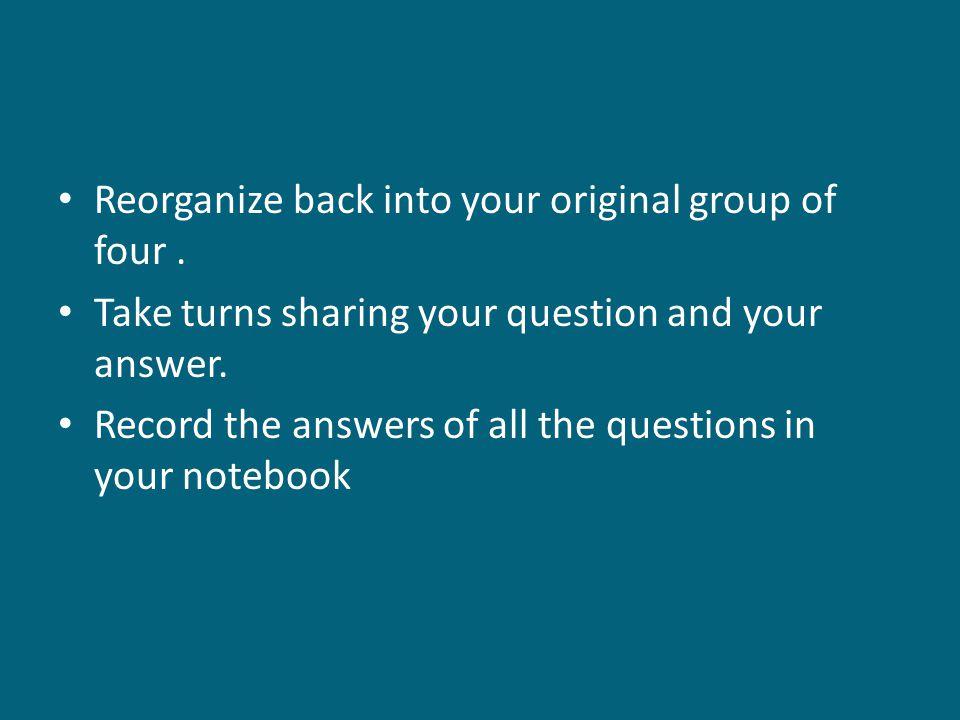 Final Question.