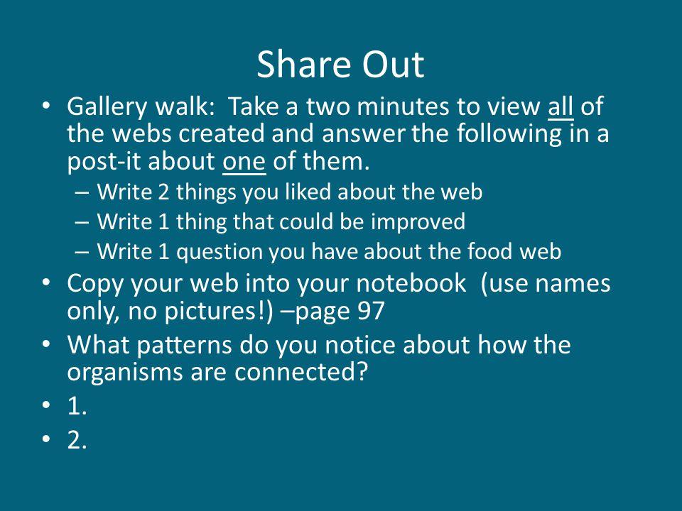 Create a Venn Diagram Food ChainFood Web