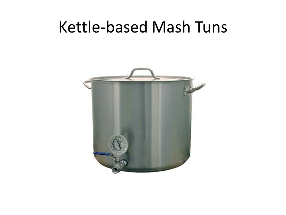 Kettle-based Mash Tuns