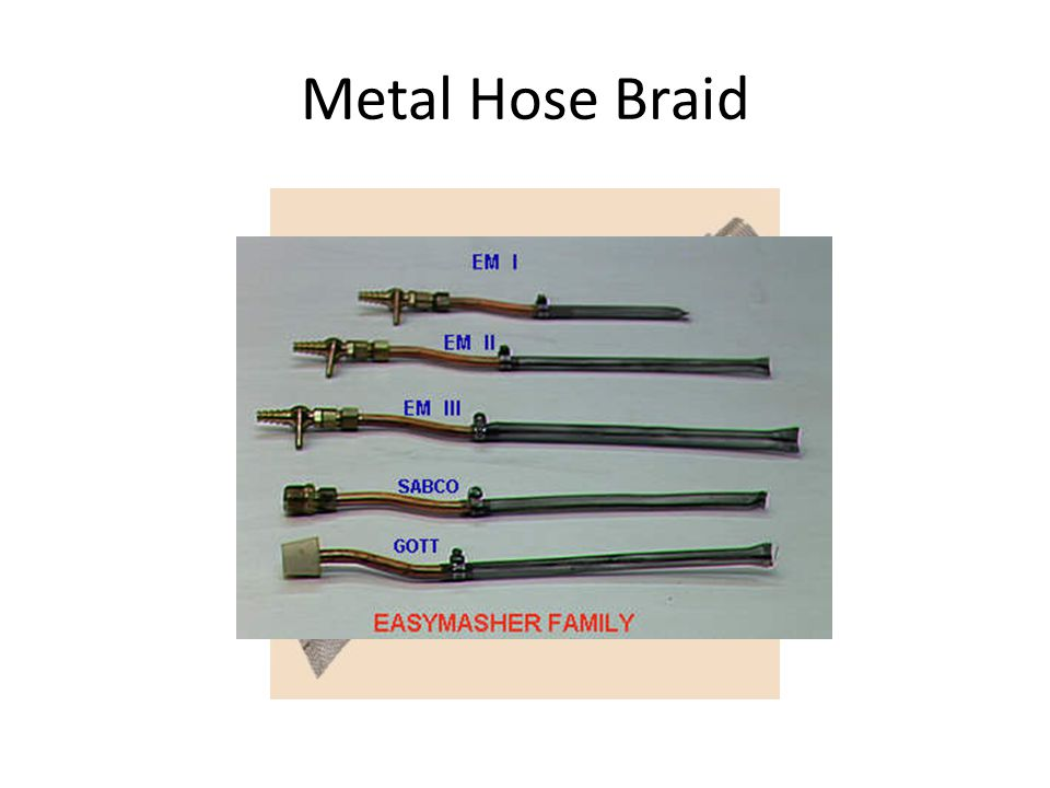 Metal Hose Braid
