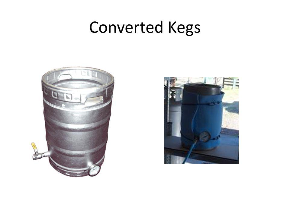 Converted Kegs