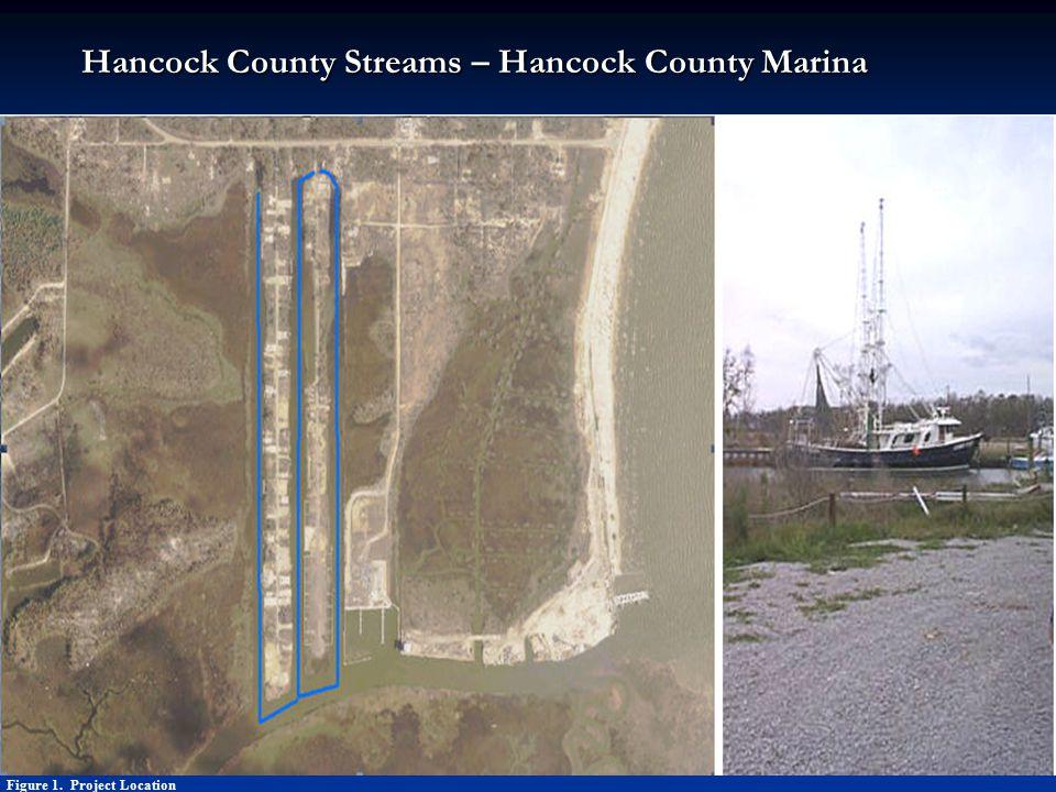 Figure 1. Project Location Hancock County Streams – Hancock County Marina