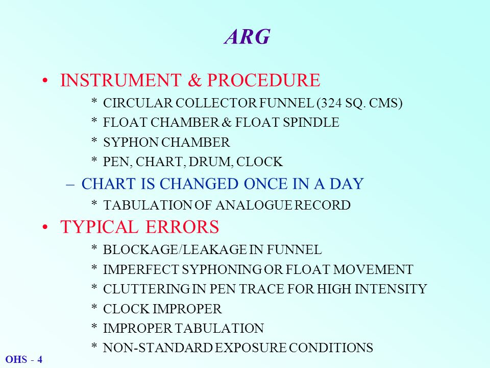 ARG INSTRUMENT & PROCEDURE *CIRCULAR COLLECTOR FUNNEL (324 SQ.